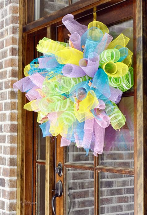 How To Make A Simple Door Wreath