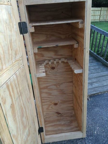 How To Make A Simple Gun Cabinet