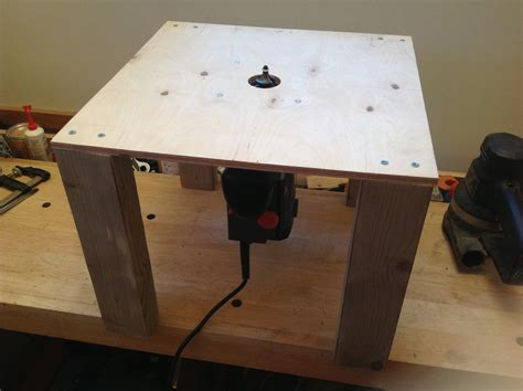 How To Make A Simple Router Table