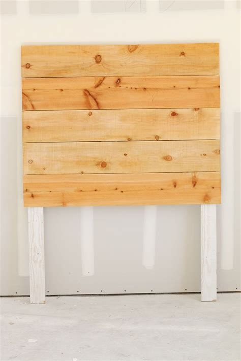 How To Make A Simple Wood Headboard