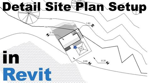 How To Make A Site Plan On Revit