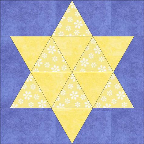 How To Make A Six Point Star Quilt Block