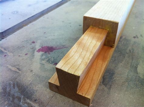How To Make A Sliding Dovetail Joint By Hand