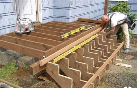 How To Make A Small Deck With Steps
