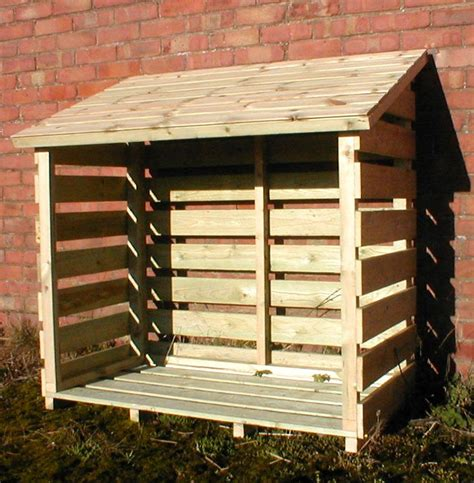 How To Make A Small Log Store