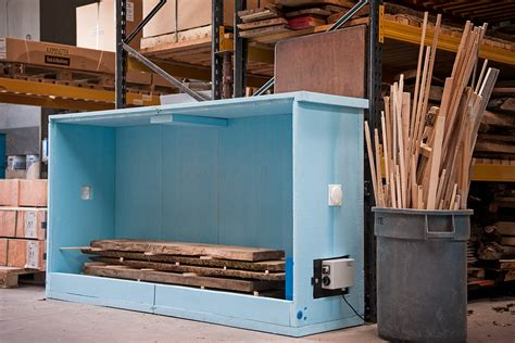 How To Make A Small Wood Drying Kiln