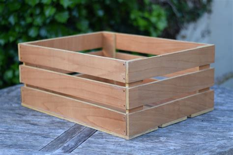 How To Make A Small Wooden Crate