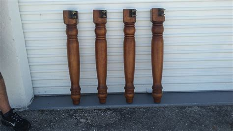 How To Make A Solid Wood Table Leg