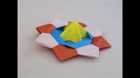 How To Make A Spinning Top Out Of Paper