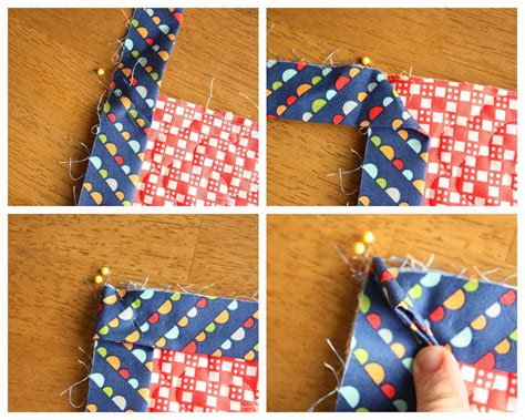 How To Make A Square Corner On A Quilt
