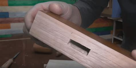 How To Make A Square Hole In Wood