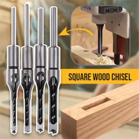 How To Make A Square Hole In Wood With Chisel