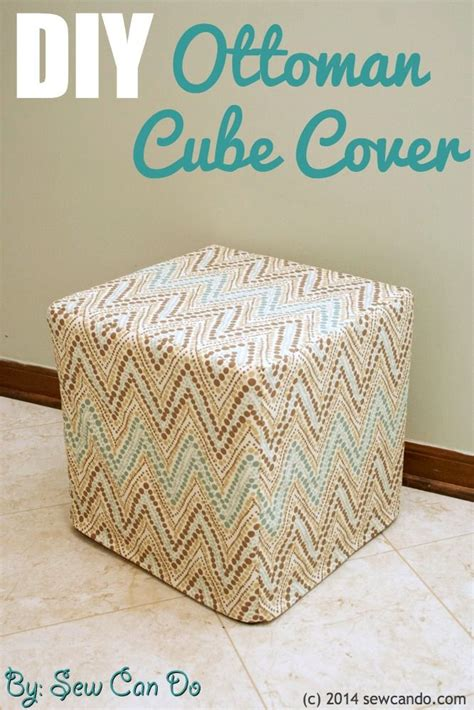How To Make A Square Ottoman With Storage
