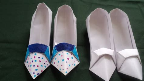 How To Make A Stiletto Heel Paper Shoe