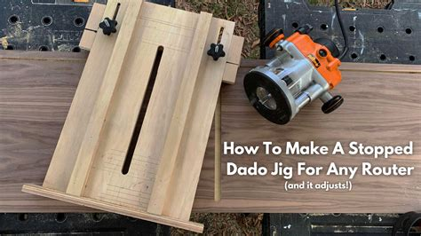 How To Make A Stopped Dado With A Router