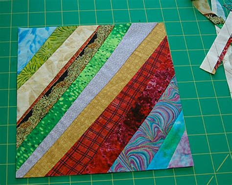 How To Make A String Block In Quilting