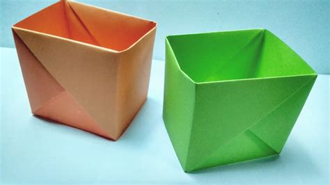 How To Make A Strong Box Out Of Paper