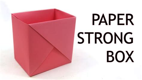 How To Make A Strong Box Post