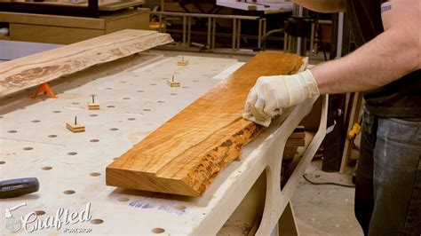 How To Make A Table From A Door Slab