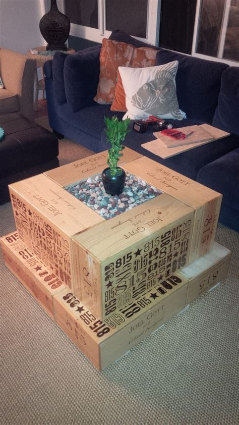 How To Make A Table Out Of Wooden Crates