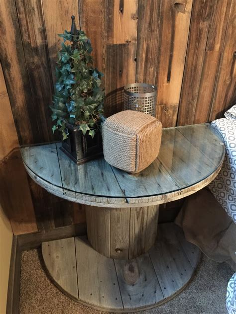 How To Make A Table Out Of Wooden Spool