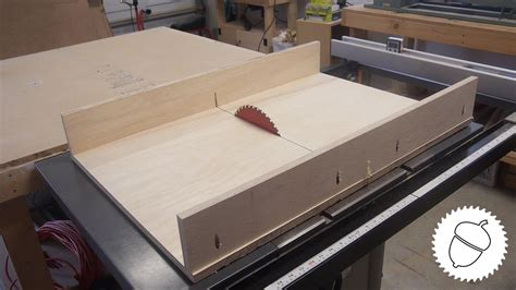 How To Make A Table Saw Panel Sled