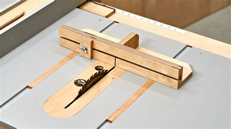 How To Make A Table Saw Sled To Square Wood