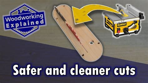 How To Make A Table Saw Throat Plate