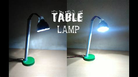 How To Make A Tabletop Lamp