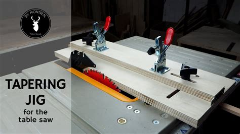 How To Make A Taper Jig Youtube Videos