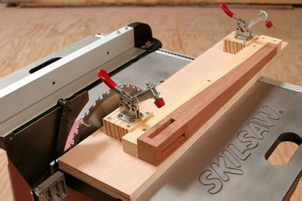 How To Make A Tapered Table Leg Jigs