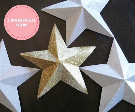 How To Make A Three Dimensional Star