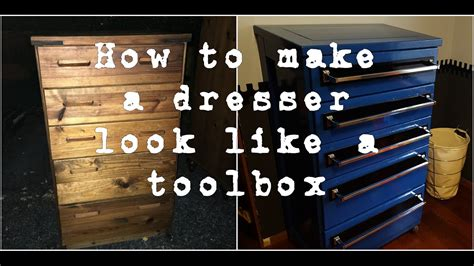 How To Make A Tool Chest Out Of A Dresser