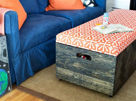 How To Make A Toy Box Ottoman