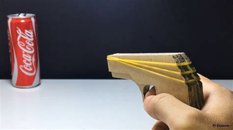 How To Make A Toy Gun That Shoots Rubber Bands