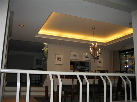 How To Make A Tray Ceiling Lighting