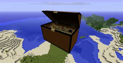 How To Make A Treasure Chest In Minecraft Pocket Edition