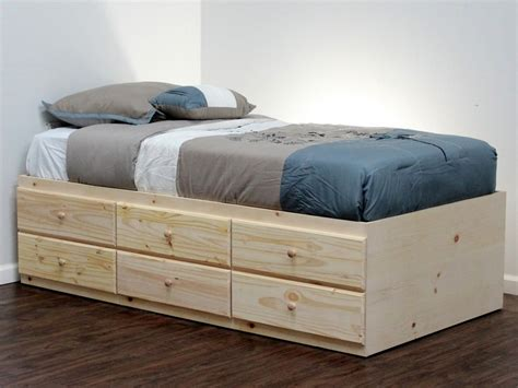 How To Make A Twin Captains Bed