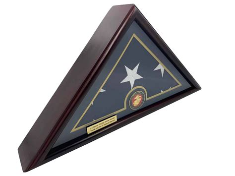 How To Make A Veterans Flag Case