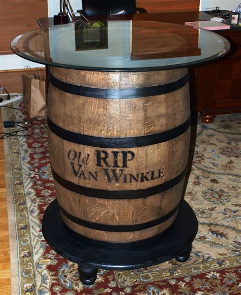 How To Make A Wagon Wheel Table With Whiskey
