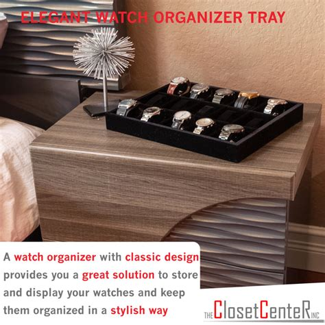 How To Make A Watch Drawer Insert