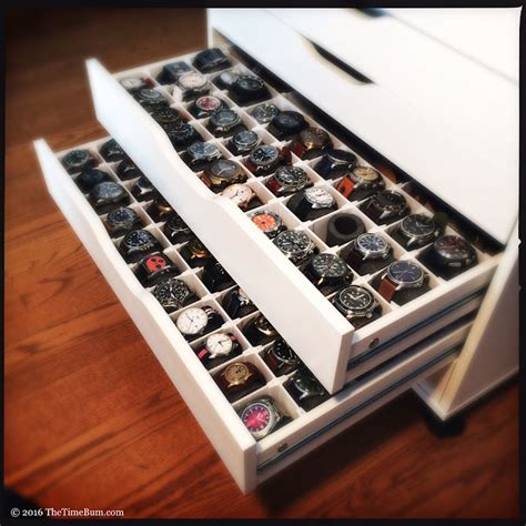 How To Make A Watch Drawers