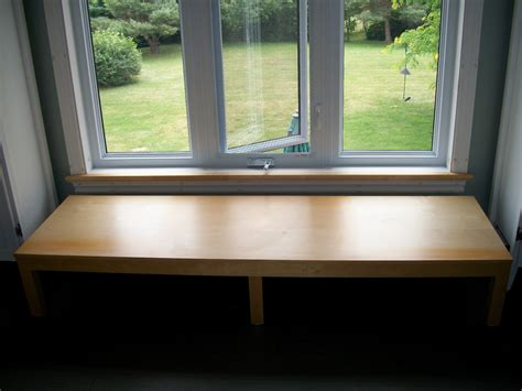How To Make A Window Sill Bench