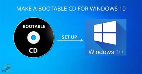 How To Make A Windows 10 Bootable Dvd