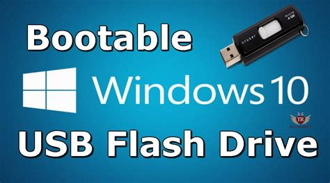 How To Make A Windows 10 Bootable Usb