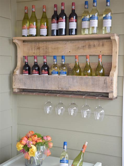 How To Make A Wine Holder For Outside Wood