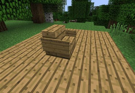 How To Make A Wood Chair In Minecraft