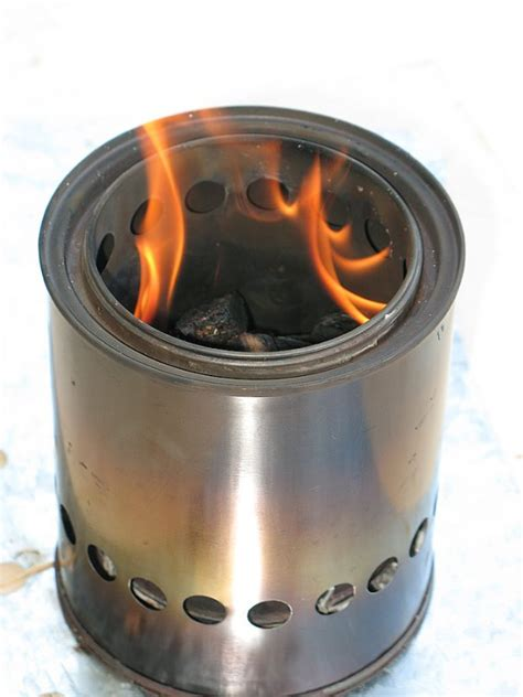 How To Make A Wood Gasifier Camp Stove
