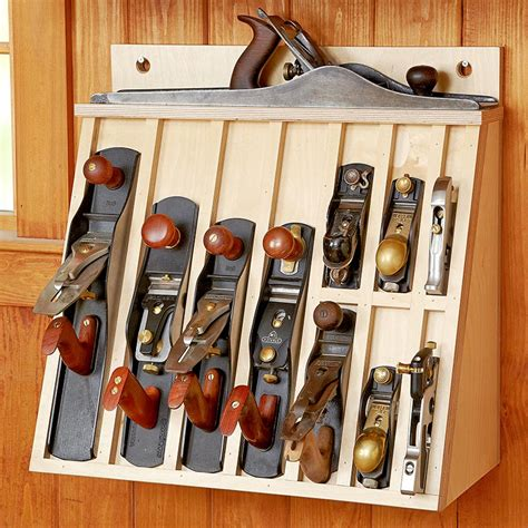 How To Make A Wood Hand Plane Storage Rack