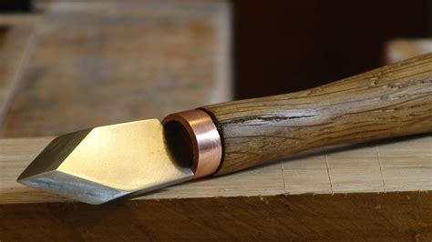 How To Make A Wood Marking Knife